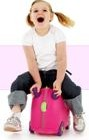 Trunki Kids Luggage Pink Suitcase