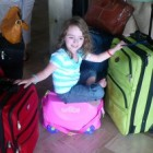 Trunki Kids Luggage Riding the Suitcase