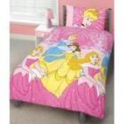 Disney Princess Shimmering Single Rotary Duvet Set