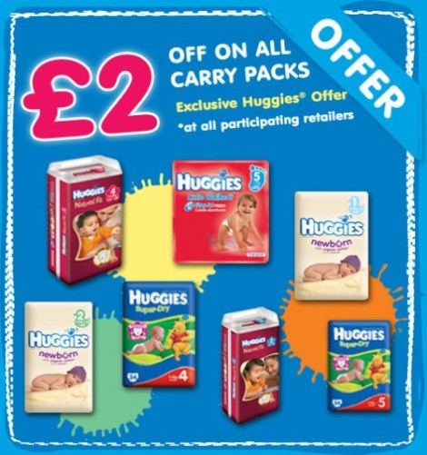 Huggies Carry Pack Voucher