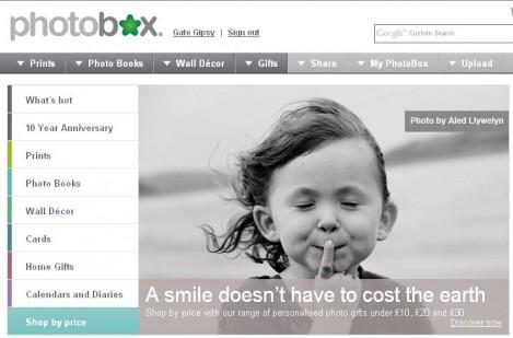 Photobox Online Photo Printing
