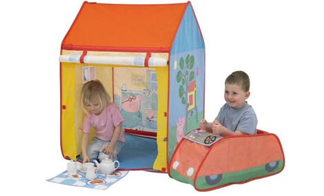 sc 1 st  Playpennies & Peppa Pig Playtent With Car £15.00 @ Boots