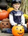 Police Black Bine Liner Costume