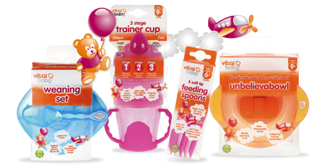 Vital Baby BPA Free Baby Feeding Products