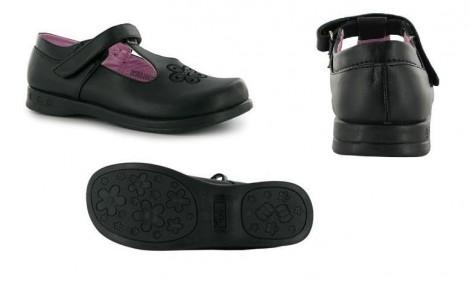 Breaker girls buckle shoe