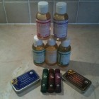 Dr Bronner's product range
