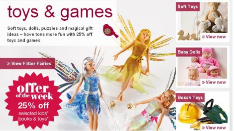 M&S toys and games