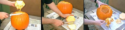Pumpkin carving and pie 3