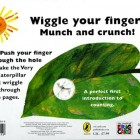 The Very Hungry Caterpillar Finger Puppet Back