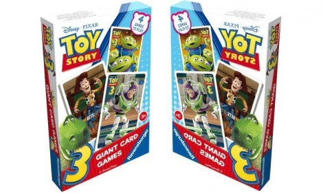 Toy Story 3 Giant Card Games