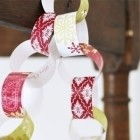Christmas crafts paper chains