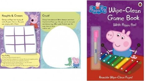 Peppa Pig Wipe Clean Book