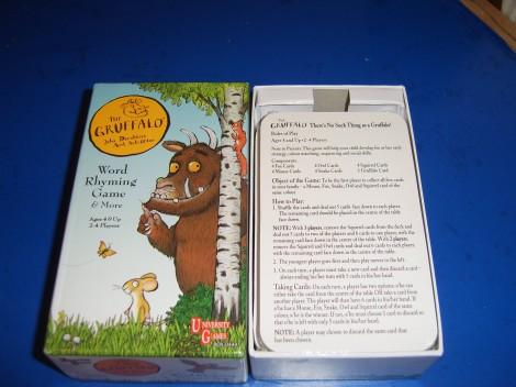 The Gruffalo Rhyming Word Game Box