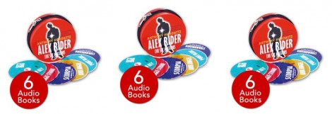 Alex Rider 6 Audio Books