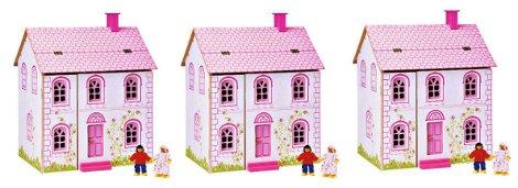 Little Steps Wooden Dolls House