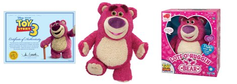 Lotso Huggin Toy Story Bear