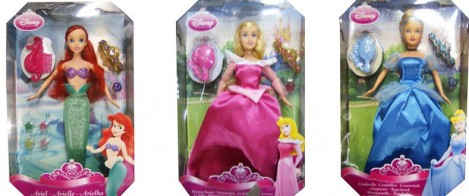 Princesses Charm Dolls