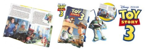 Toy Story 3 Storybook Pillow