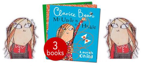 clariceBeanBookCollection