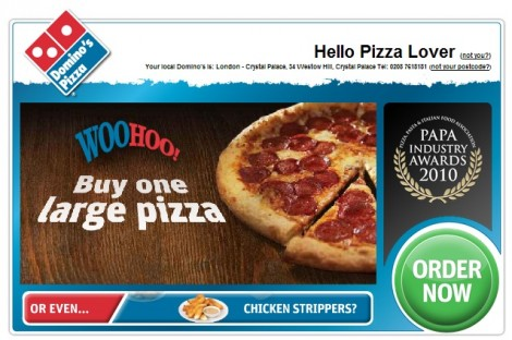 Dominos coupons 10 off