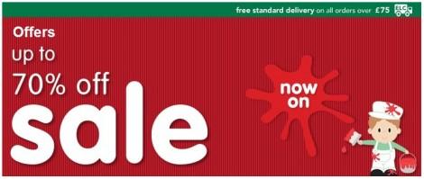 ELC 70 percent sale