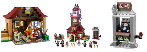 Harry Potter Lego The Burrows
