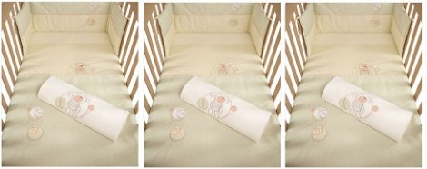 Mamas and Papas Hugs Sherbet Bedding Set
