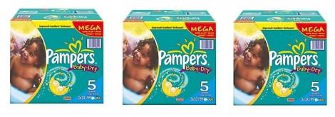 Pampers Mega Packs