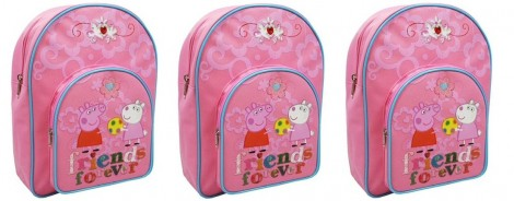 Peppa Pig Friends Forever Backpack