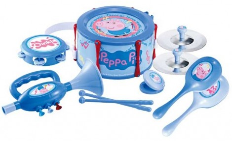 Peppa Pig George's Band Set