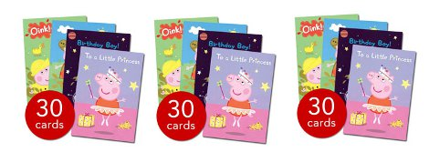 Peppa Pig Greeting Cards