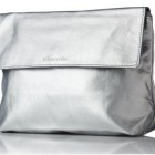 QVC Online Shop Elemis Silver Makeup Bag