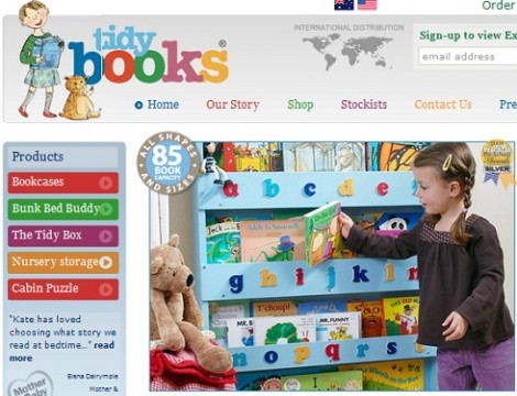 Tidy Books Kids Bedroom Furniture