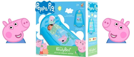peppaPigGeorgeReadyBed