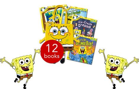 spongeboobSquarepantsBookCollection