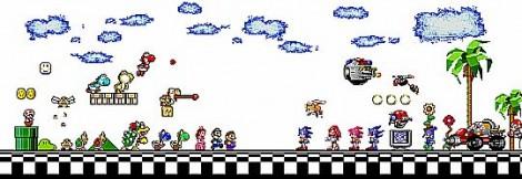 01_Mario_vs_Sonic_Title