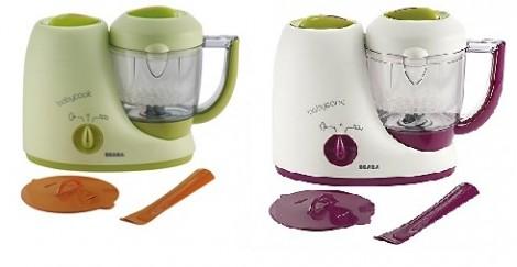 Beaba Babycook Steamer and Blender Green