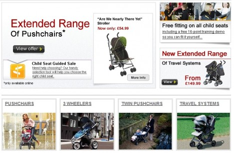 Halfords pushchairs prams and accessories