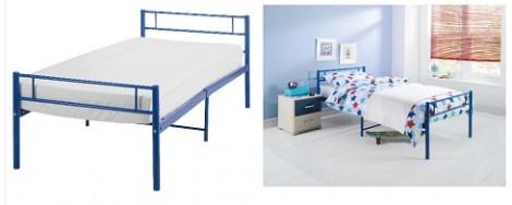 Tesco Charlie Single Bed Blue
