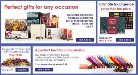 Thorntons Chocolate Promotional Code