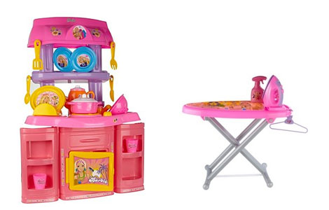 barbieIronBarbieKitchenSet