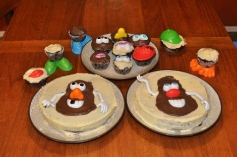 mrPotatoHeadCakeDecorations