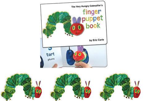 veryHungryCaterpillarFingerPuppetBook