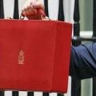 Budget 2011 red briefcase