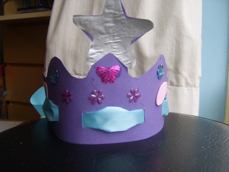 Easy to make fairy crown 1