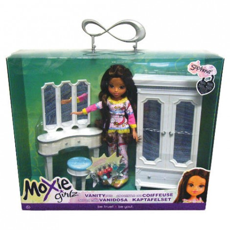 Moxie Girlz Vanity Set And Doll