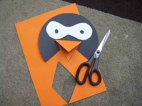 Workshop Wednesday Make A Penguin Mask