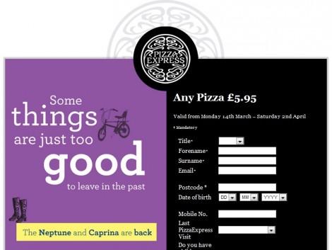 Pizza Express Coupon