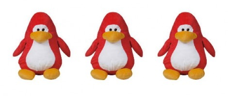 clubPenguinSoftToy