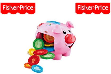 fisherPriceLaughAndLearnPiggyBank
